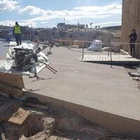 Grecia ha llenado de cemento el entorno de la Acrópolis. Según el gobierno, por una buena causa