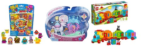 Ofertas de juguetes Lego, SuperZings y Disney por menos de 15 euros en Amazon