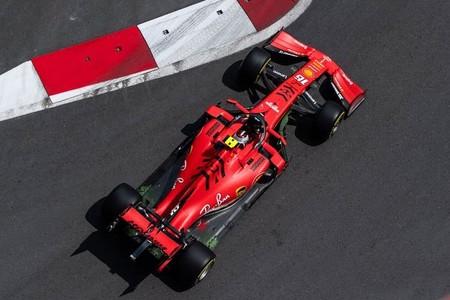 Leclerc Baku Formula 1 2019