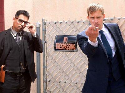 'War on Everyone', tráiler con Michael Peña y Alexander Skarsgård como polis corruptos