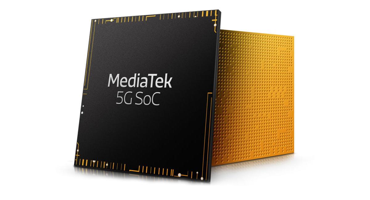 MediaTek trabaja en seis nuevos procesadores 5G para la gama media y baja