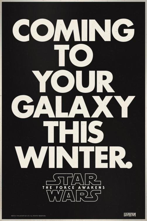 Foto de 'Star Wars: El despertar de la fuerza', todos los carteles del Episodio VII (12/18)