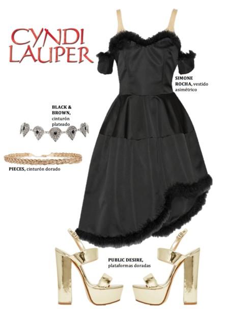 Cindy Lauper Look