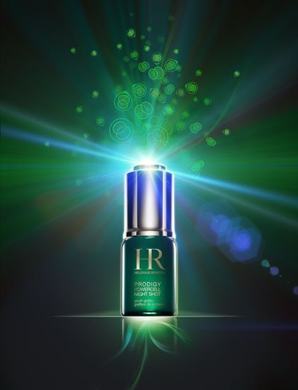 'Prodigy Powercell Night Shot' de HR, el poder rejuvenecedor de las células nativas vegetales