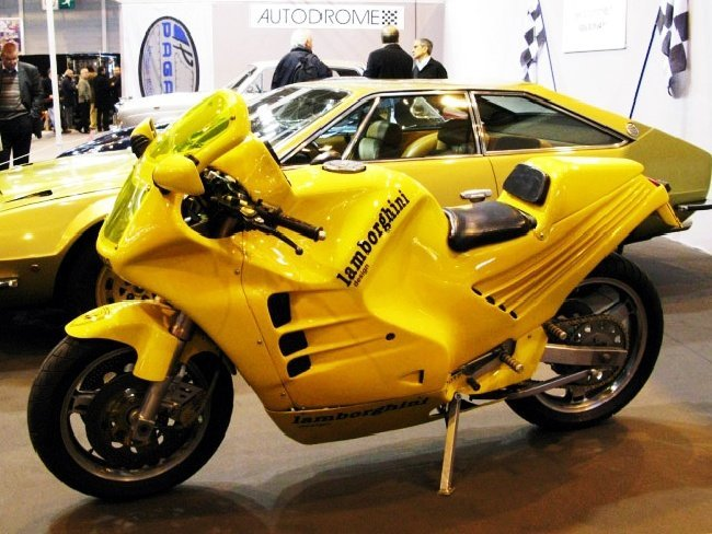 moto lamborghini