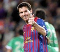 Messi ya lo tiene todo, incluido su retoño
