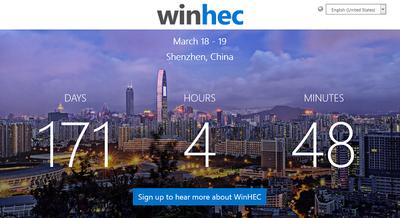 Microsoft relanza WinHEC, su conferencia para desarrolladores de hardware