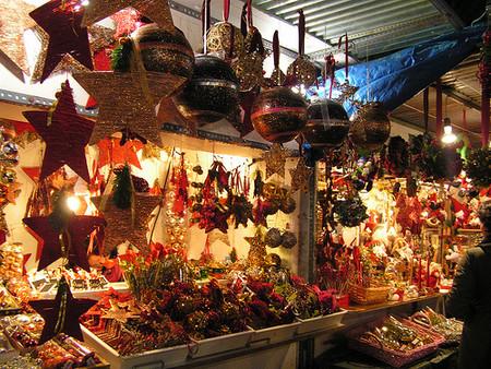 Mercado De Navidad De Santa Lucia Barcelona