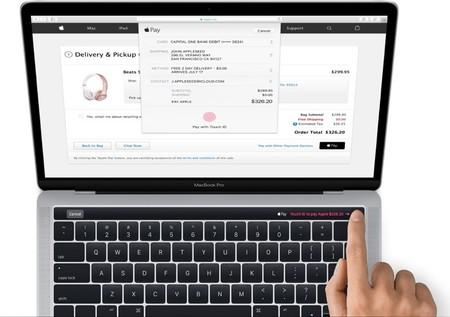 Así lucirán las nuevas MacBook Pro con su pequeño panel OLED táctil