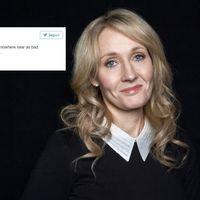 J.K. Rowling humilla a Trump por Twitter. Sí, otra vez