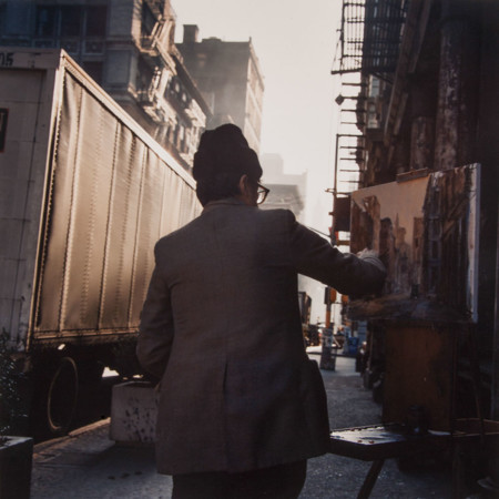Painter Soho New York City 1984