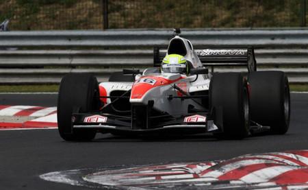 Kimiya Sato Hungaroring Auto GP