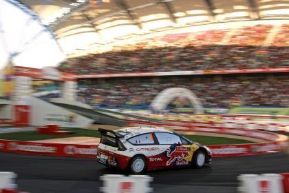 Cuarta victoria de cuatro rallyes para Sébastien Loeb