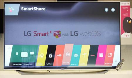 La segunda versión de WebOS para los televisores de LG la veremos en el CES 2015