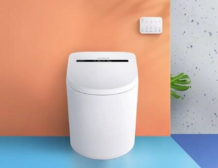 Xiaomi tiene una taza de baño inteligente con pantalla, control inalámbrico y sensor para activar la descarga acercando el pie
