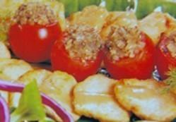 Escalopines de pollo con salsa de mostaza