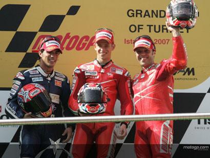 Moto GP, Stoner 2, Rossi 1