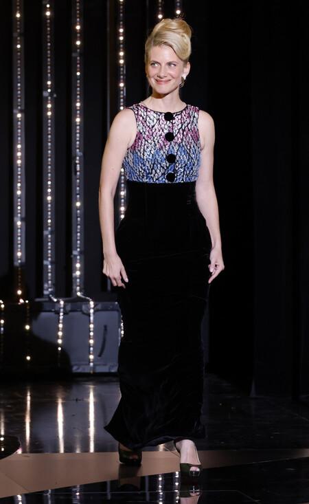 Melanie Laurent alfombra roja cannes 2021