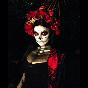 Belleza y Celebrities: Maquillajes de Halloween, terroríficamente divertidos