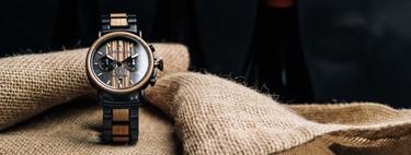 Original Grain le da un giro de lujo a la sustentabilidad con su reloj creado con madera de barricas recicladas