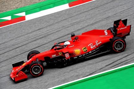 Vettel Estiria F1 2020 2