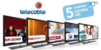 Telecable mejora su oferta televisiva con cinco nuevos canales con calidad HD