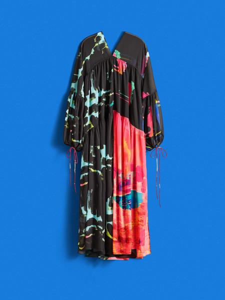 Vestido Voluminoso De GasaVestido voluminoso de gasa