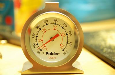 """Conoce tu horno: descubre la temperatura real y los """"puntos calientes"""""""