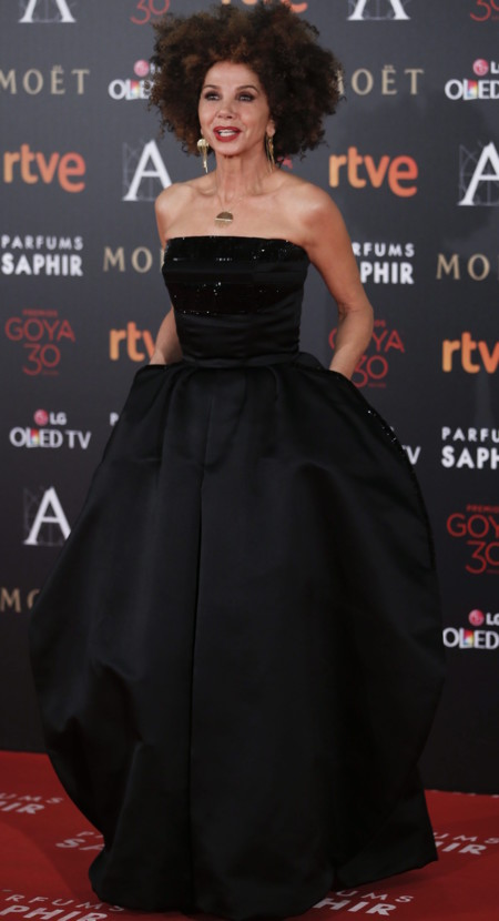 Victoria Abril Goya 2016 1