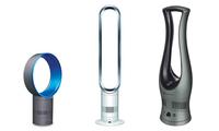 Nuevos ventiladores sin aspas de Bionaire y Dyson