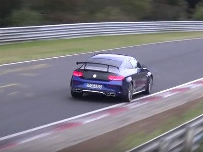 Mercedes-AMG C63 Coupé Black Series. ¿Eres tú el que atronas en este vídeo?