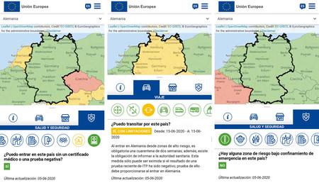 Mapa Movilidad Europea 2