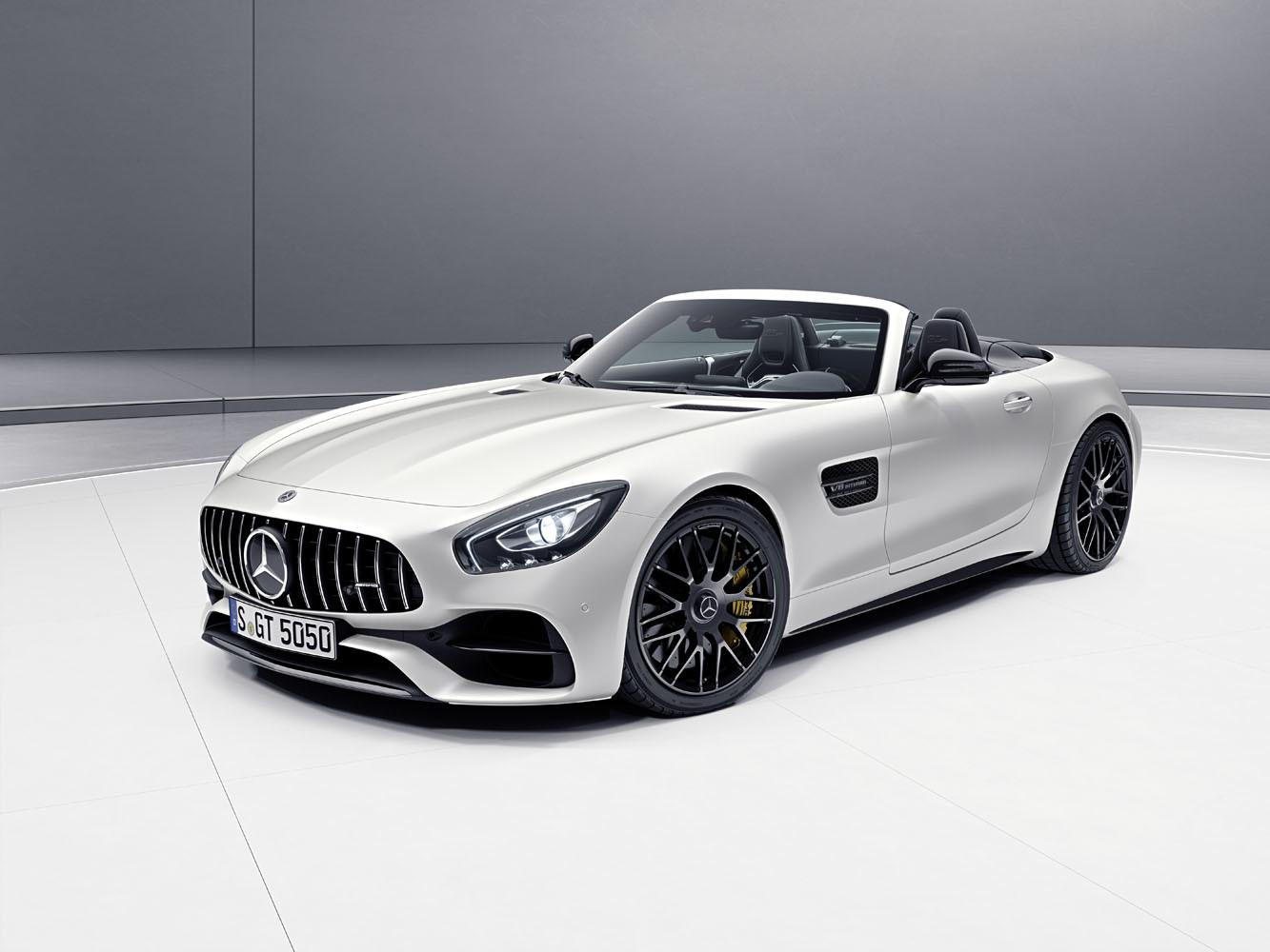 Mercedes-AMG celebra 50 aniver edicion especial GT y Clase C