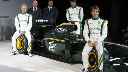 Trulli Kovalainen Lotus F1 2010