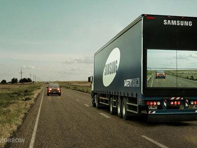 """Este vídeo nos enseña el genial remolque """"transparente"""" de Samsung para salvar vidas"""