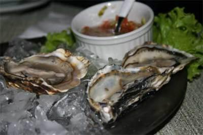Las ostras, un marisco saludable para esta Navidad
