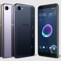 HTC Desire 12 y Desire 12 Plus: elegante cuerpo de cristal y pantalla 18:9 para la gama media