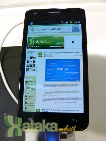 Foto de Samsung Galaxy S II en el MWC (9/9)
