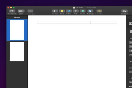 Cómo ocultar la numeración en la primera página de los documentos de Pages en macOS