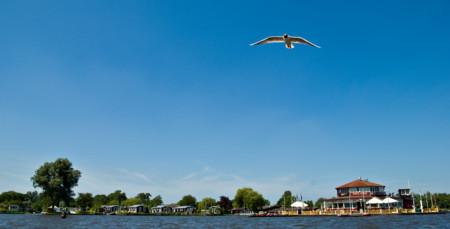 Laguna turba Holanda
