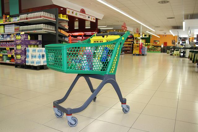 Ahorro en compra supermercados