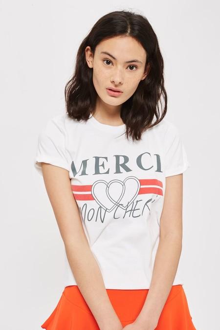 camiseta merci mon cheri topshop instagram