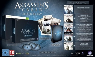 Trailer de lanzamiento de 'Assassin's Creed: Anthology'. Lección de historia