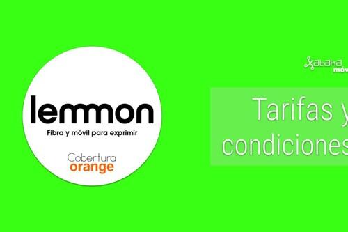 Tarifas de Lemmon fibra, móvil y combinados: Todas las ofertas