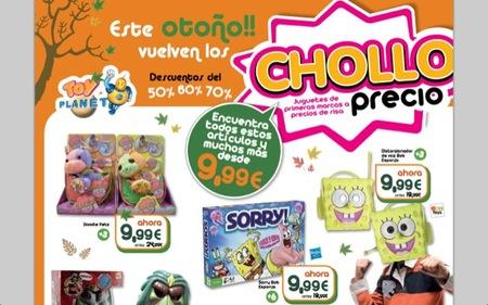 En Toy Planet publican el catálogo de chollo precios para el otoño 2012