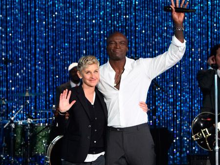 Pues sí que ha tardado Seal en hablar de su divorcio de Heidi Klum, ¡y por partida doble!