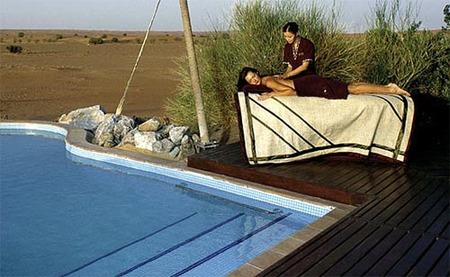 Campamento beduino de lujo
