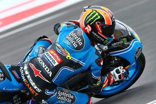 Aron Canet mete miedo en Moto3 la primera jornada del GP de las Américas