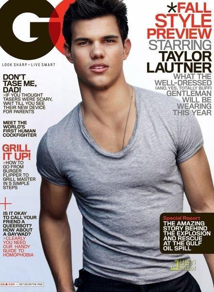 Taylor Lautner en la portada de GQ