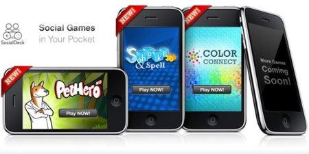 SocialDeck, anuncio de sus juegos